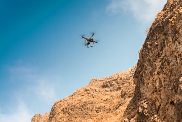 Drones-can-reach-difficult-places-in-search-for-dinosaur-fossils-AdventureDinosaurs