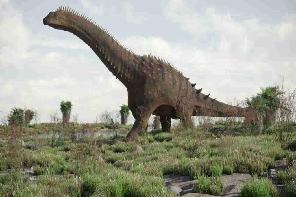 Alamosaurus-a-titanosaur-with-spikes-on-its-back-AdventureDinosaurs